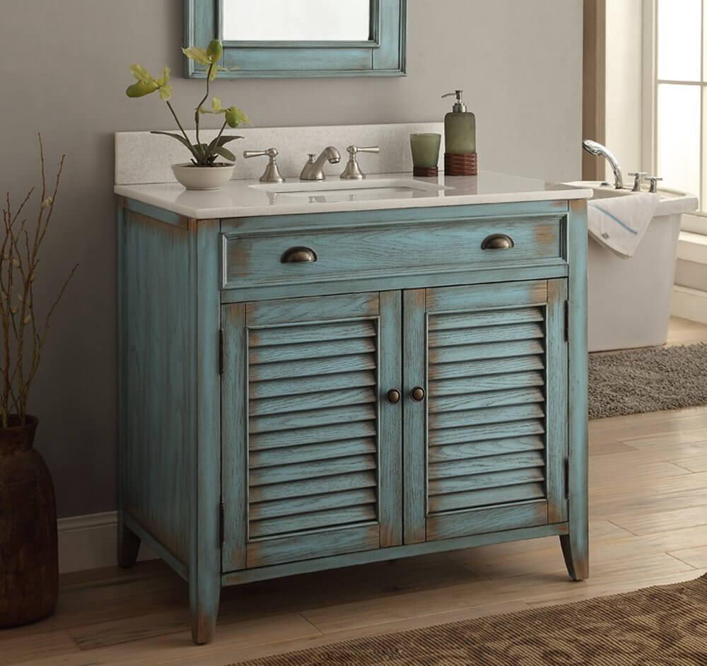 Classic DIY bathroom vanity