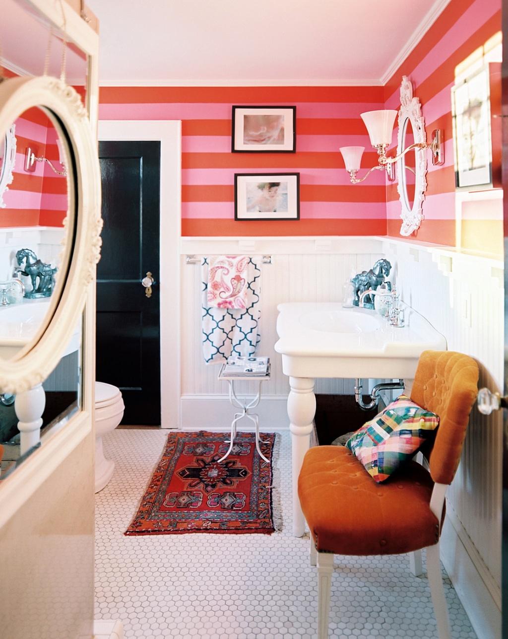 Fresh bathroom furniture