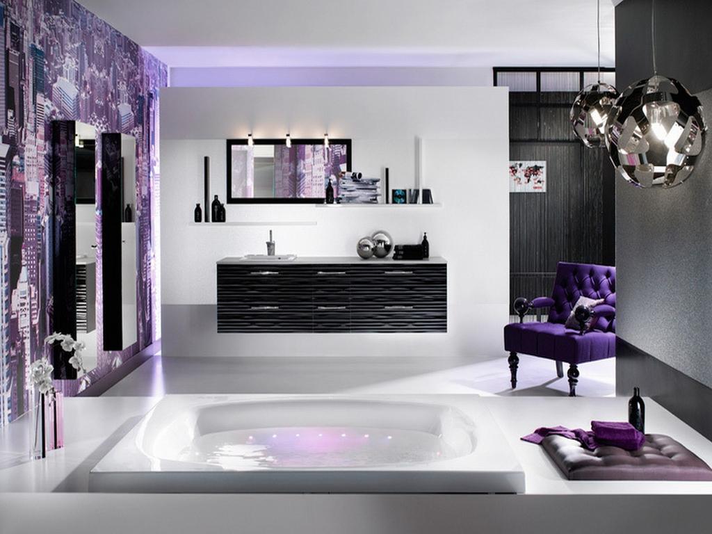 Elaborate bathroom furniture
