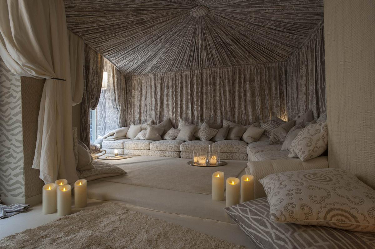 Remarkable meditation room