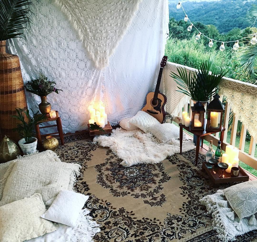 Charming meditation room