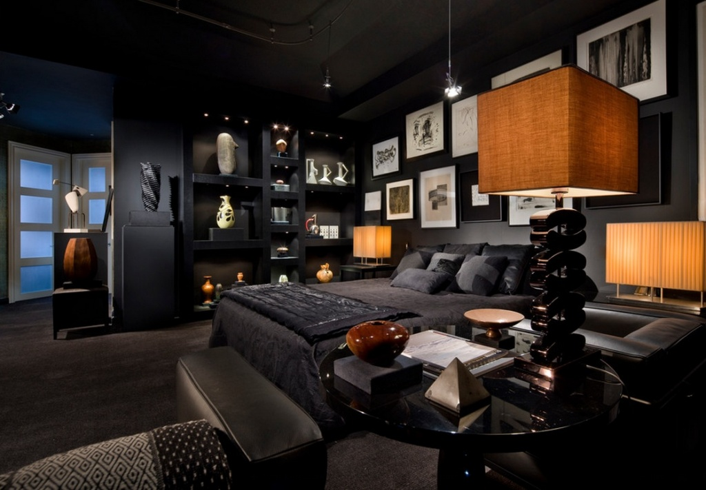 Notable dark bedroom
