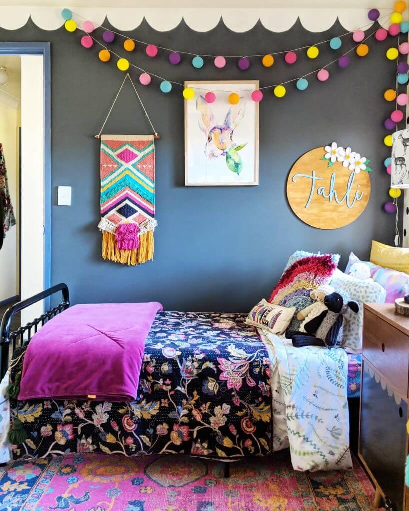 Enthusiastic DIY bedroom
