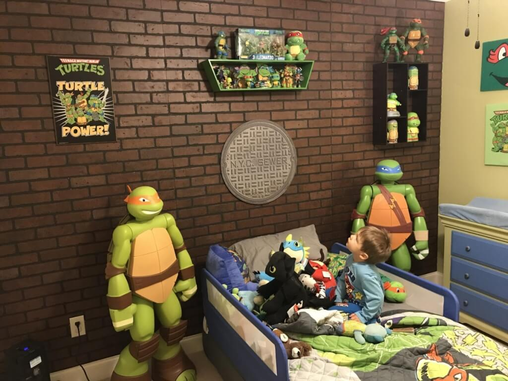 Fantastic superhero bedroom