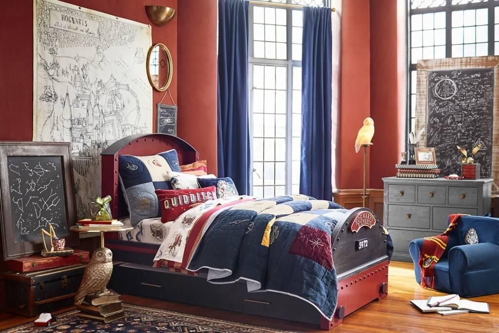 Inspirational superhero bedroom