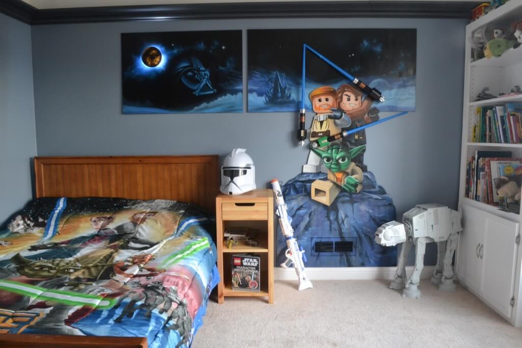 Pleasant superhero bedroom