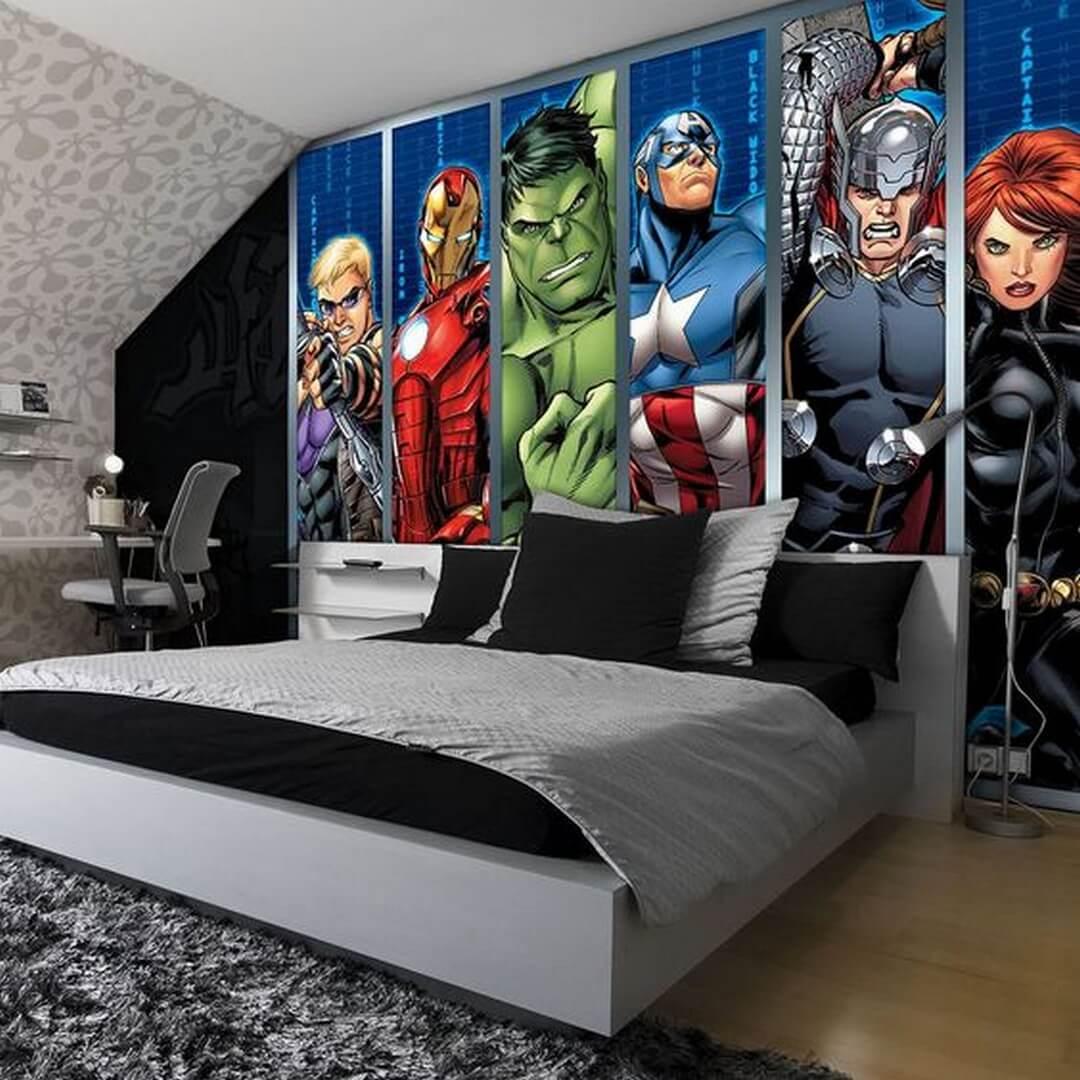 Gorgeous superhero bedroom