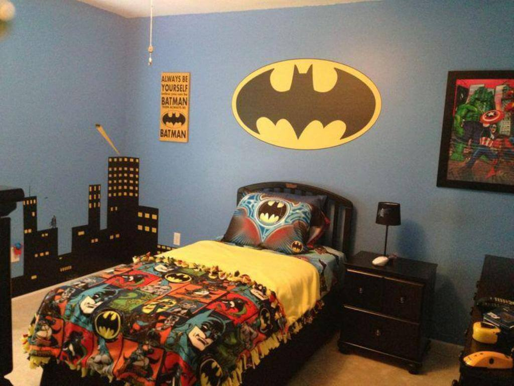 Ideal superhero bedroom
