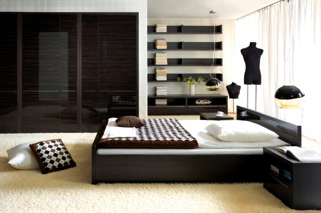 Creative neutral bedroom