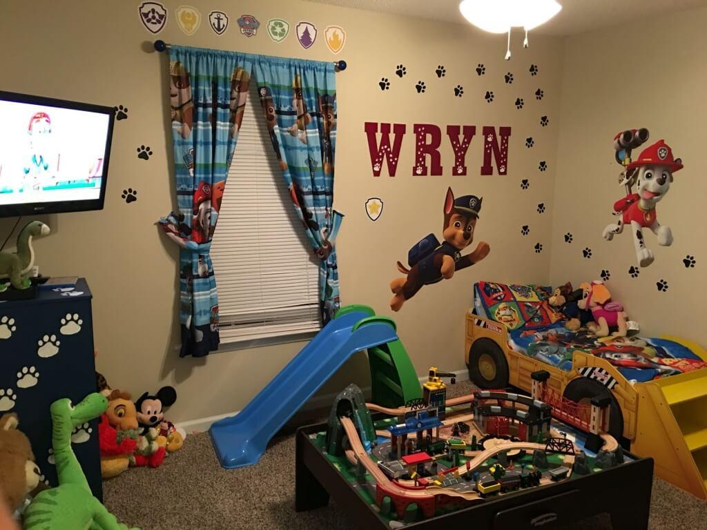 Playful Paw Patrol bedroom