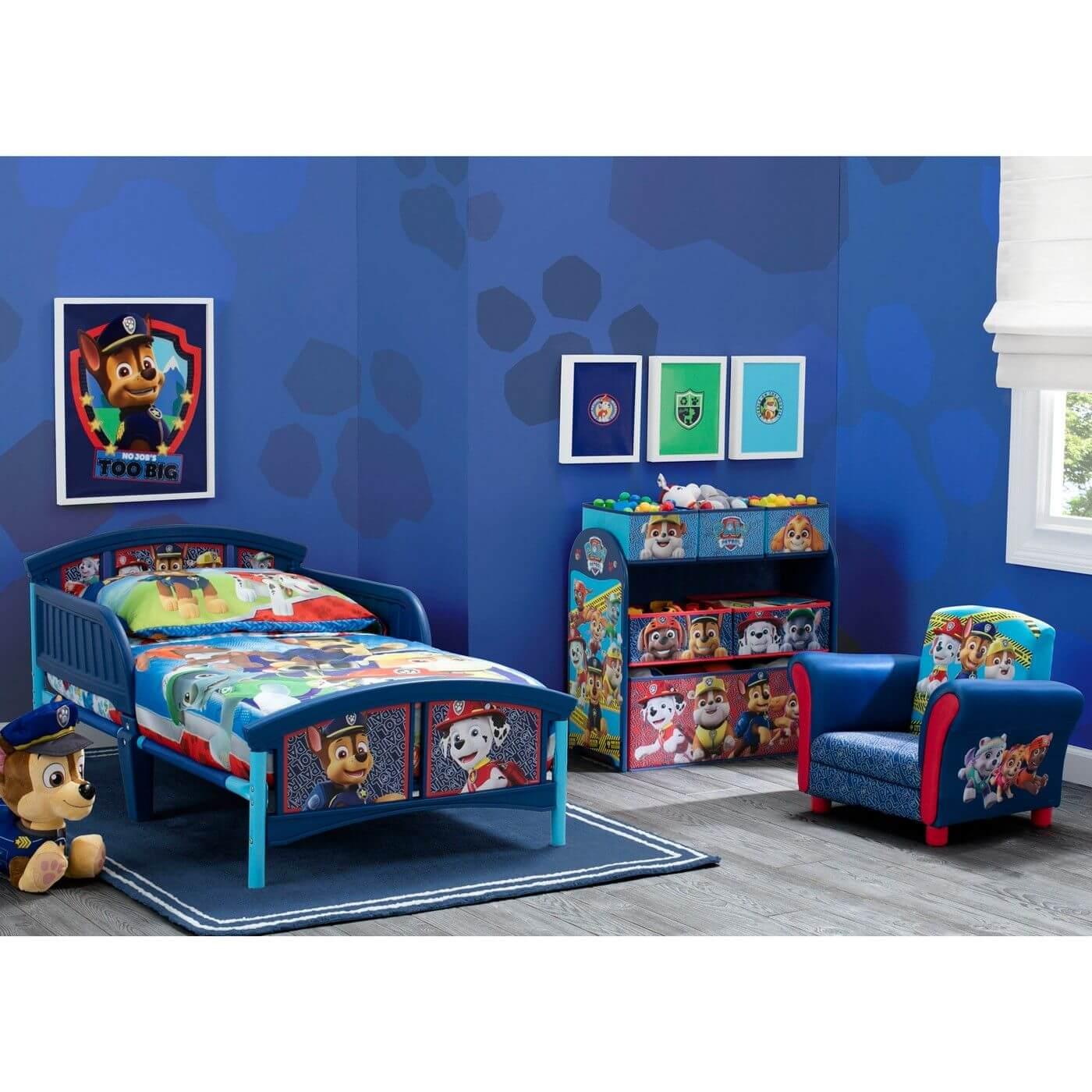 Pleasant Paw Patrol bedroom