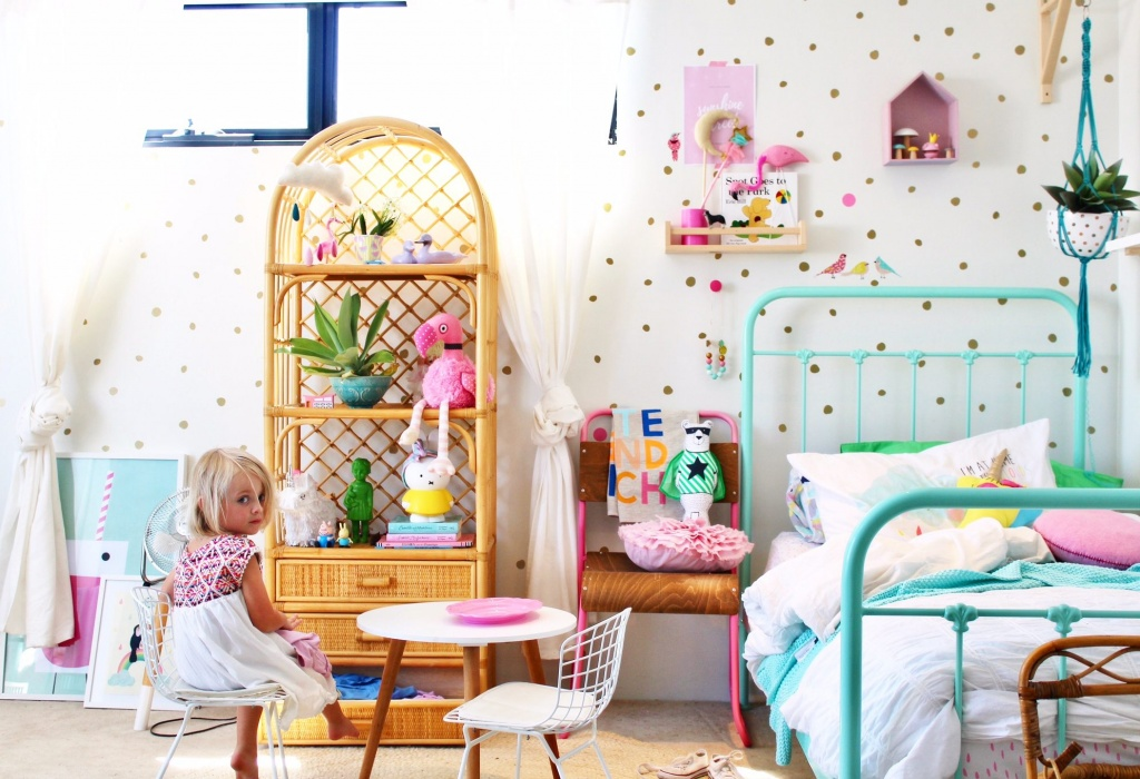Enthusiastic toddler's room