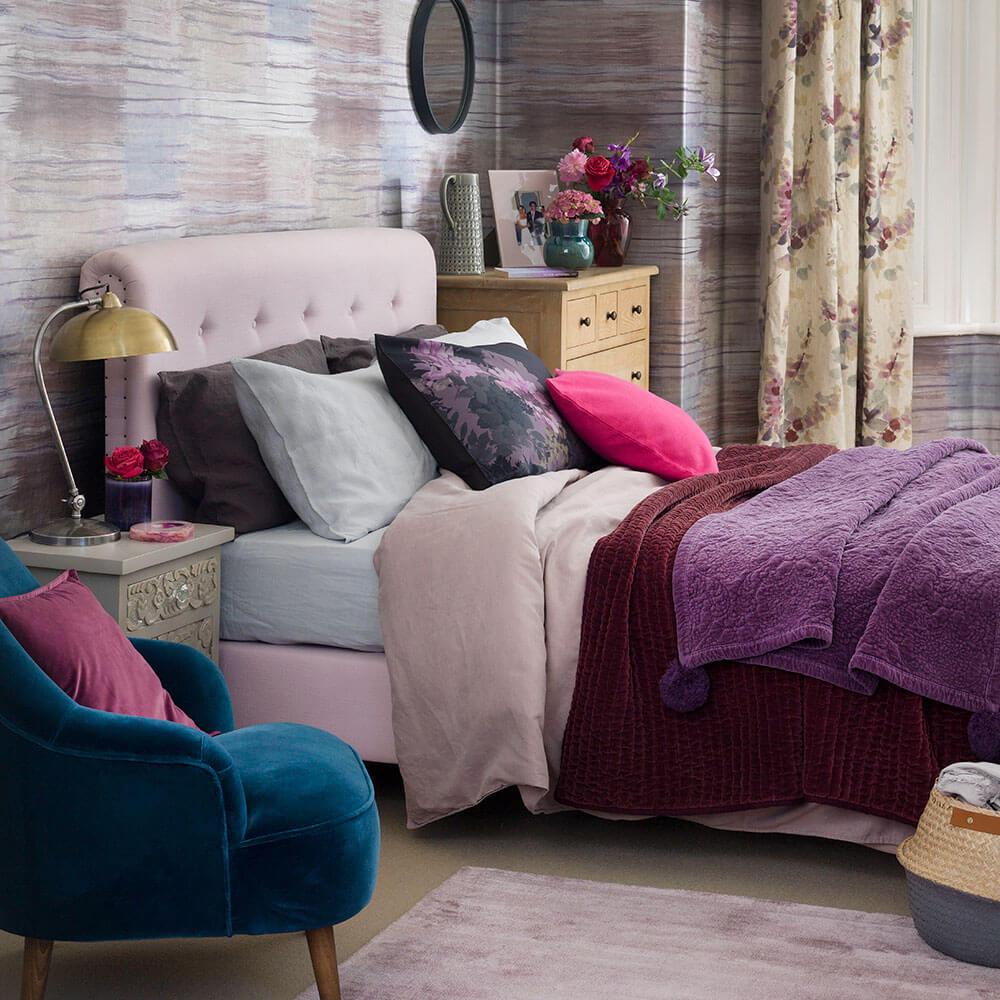Attractive female bedroom