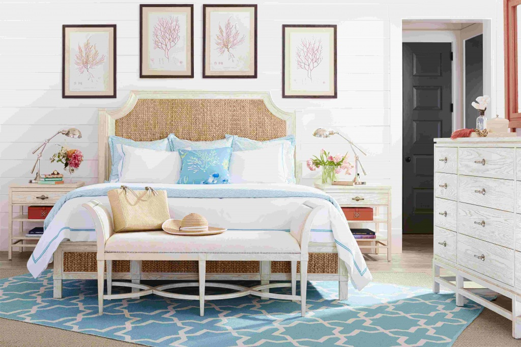 Chic bedroom by the sea