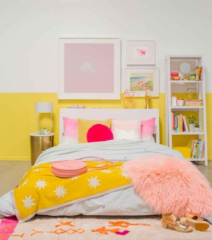 Fresh woman's bedroom