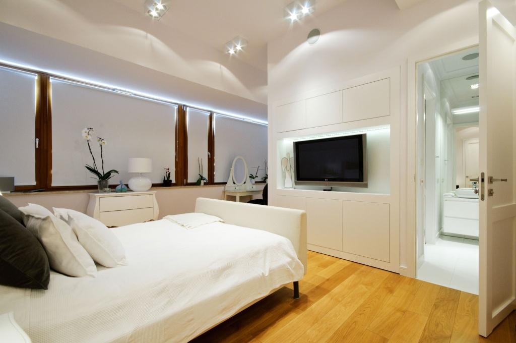 Soft bedroom mirror