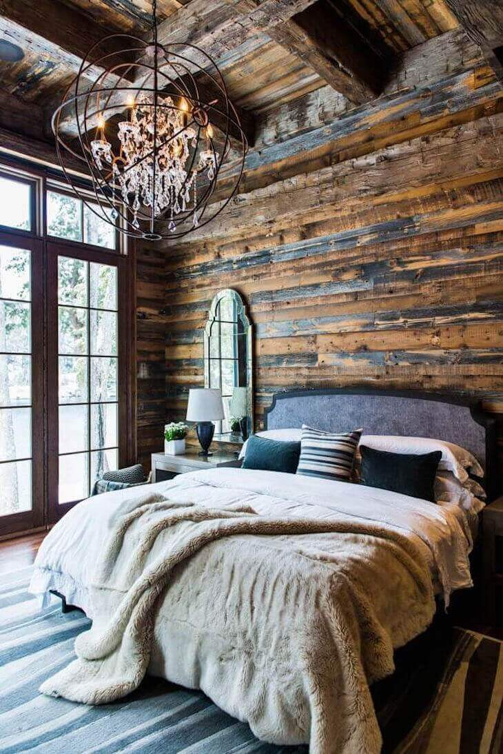 Generous country house room
