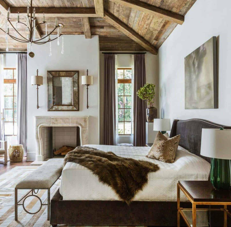 Graceful farmhouse bedroom