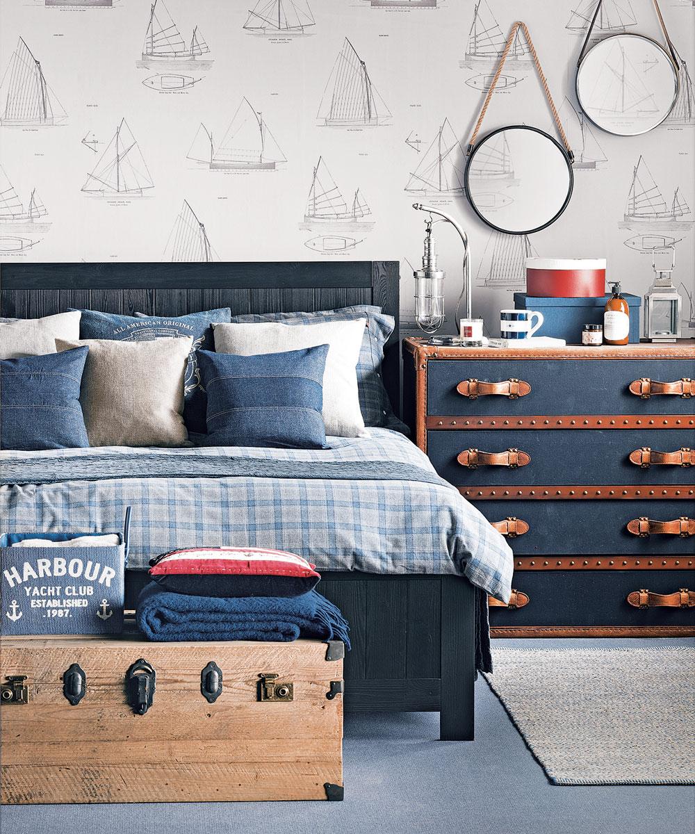 Amazing nautical bedroom