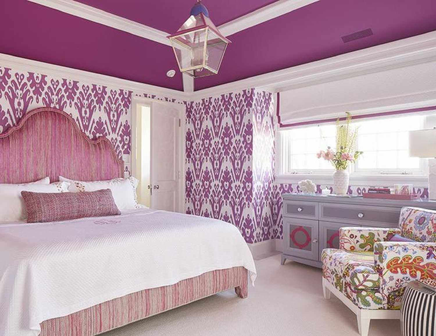 Sweet bedroom for adults