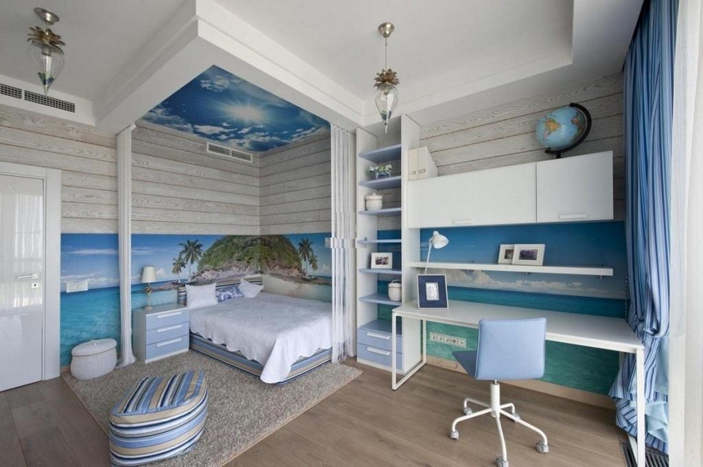 Inspirational beach bedroom