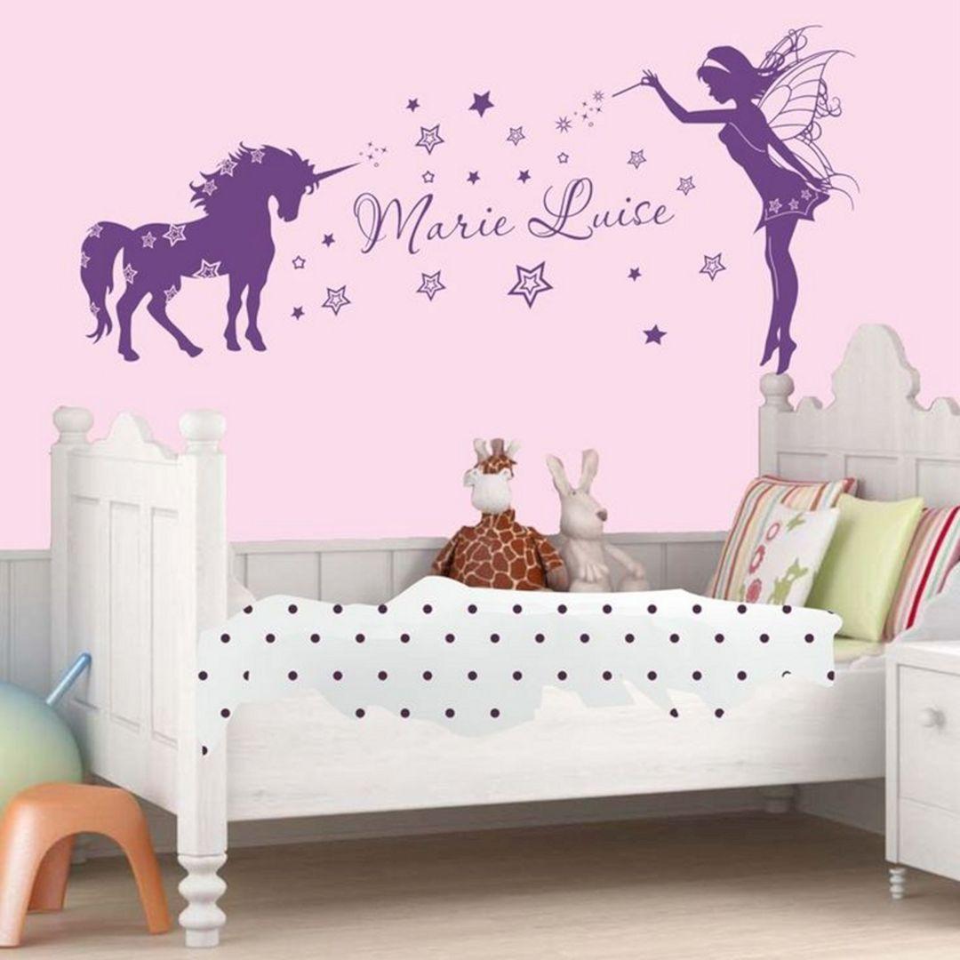 Fancy unicorn bedroom