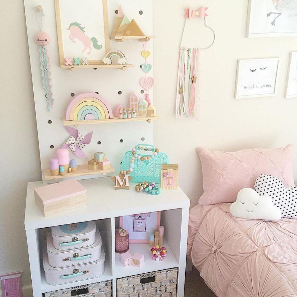 Soft unicorn bedroom