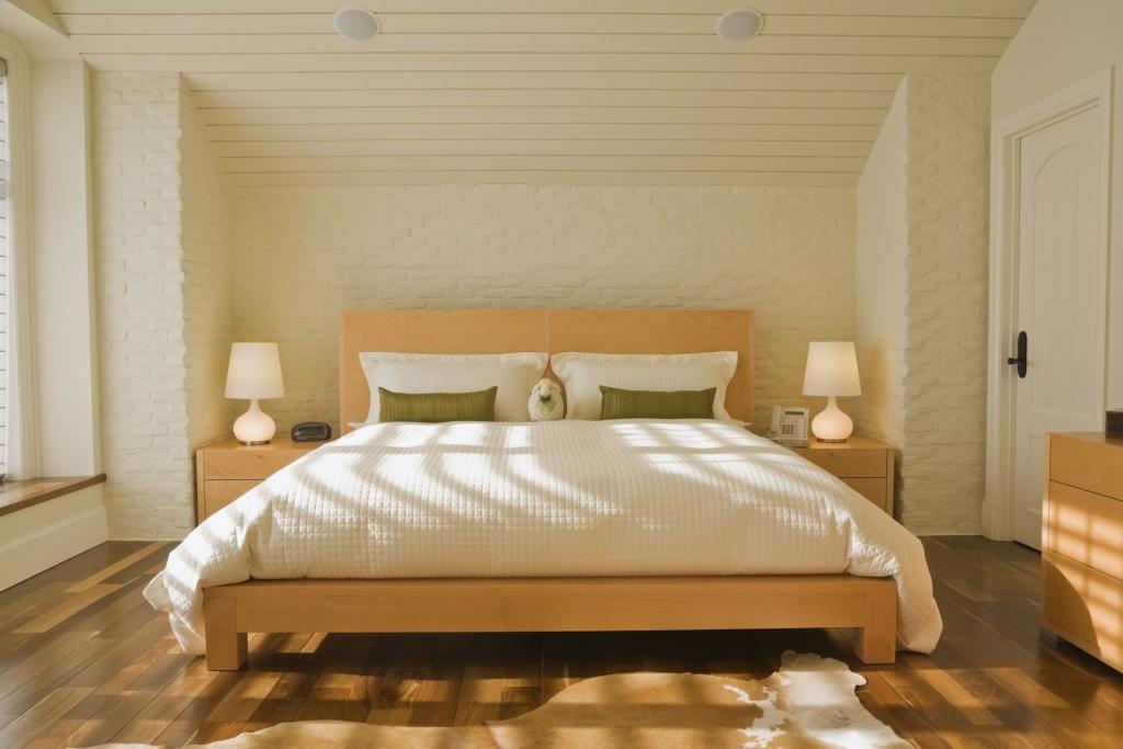 Modern classic bedroom door