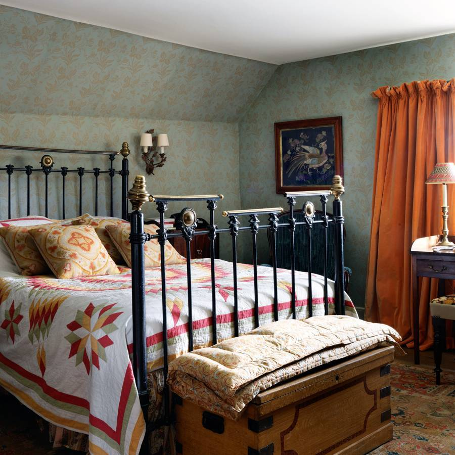 Classic cottage bedroom