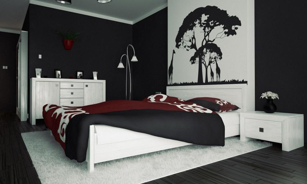 Trendy bachelor bedroom