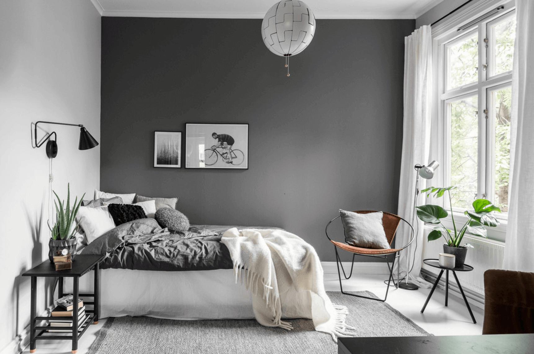 Nice men's bedroom