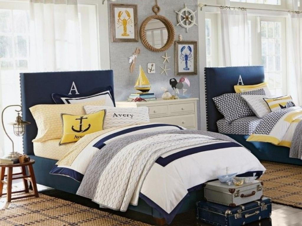 Fabulous nautical bedroom