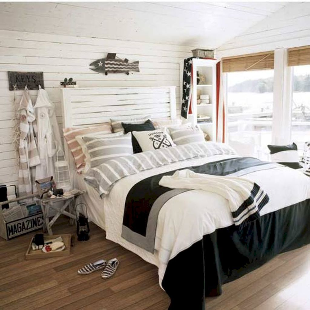 Sunny nautical bedroom