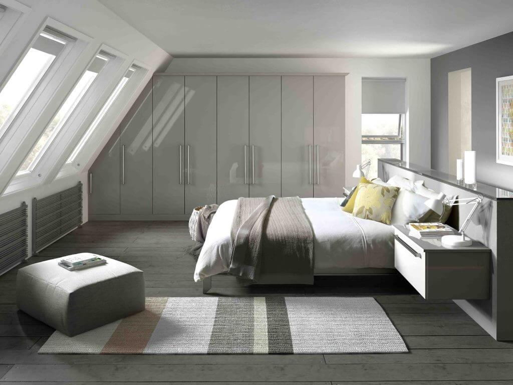 Fancy men's bedroom