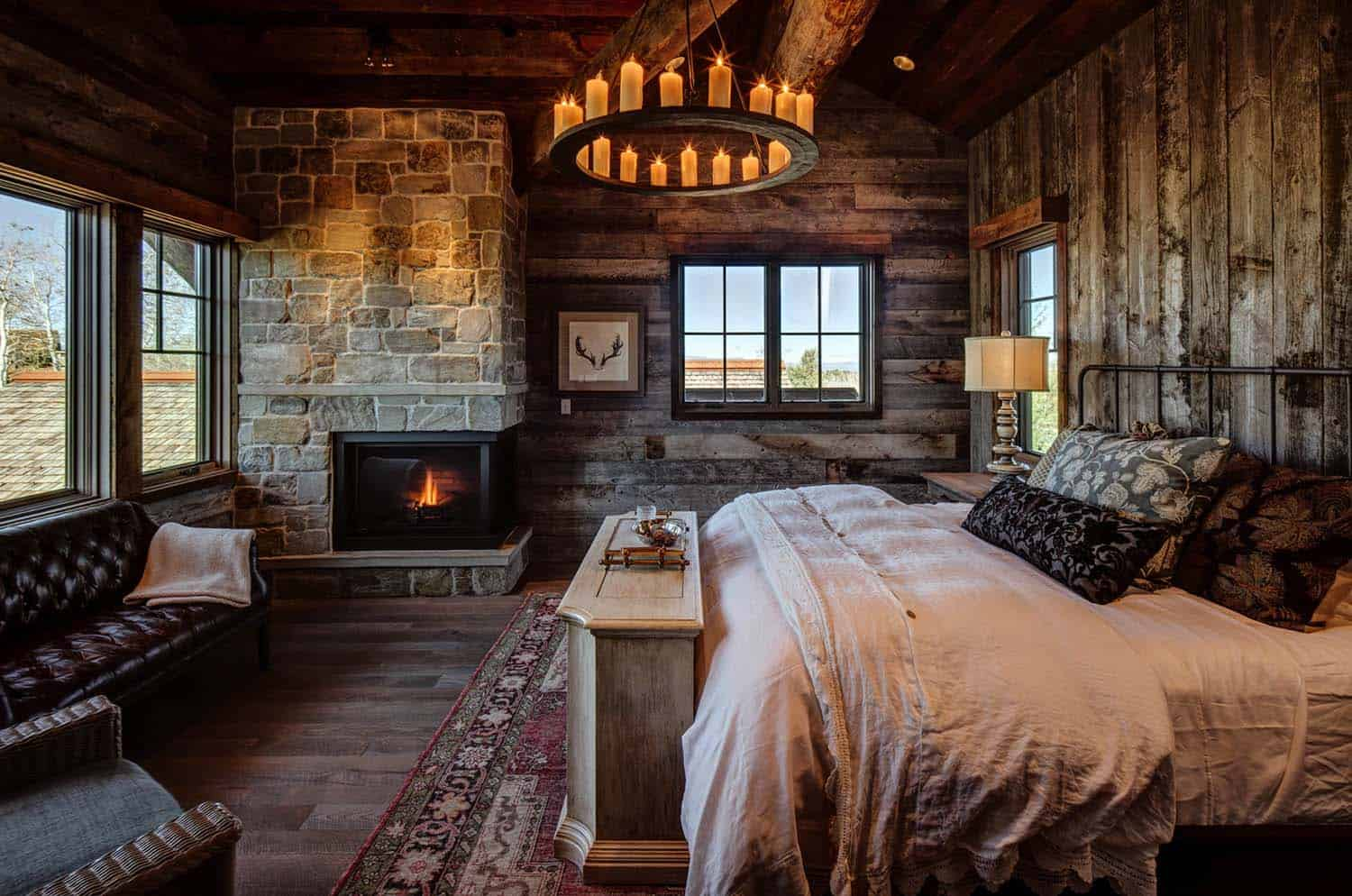 Refreshed traditional country house room