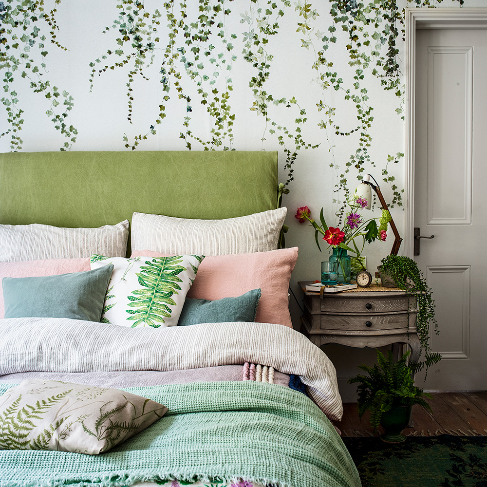 Natural bedroom for adults