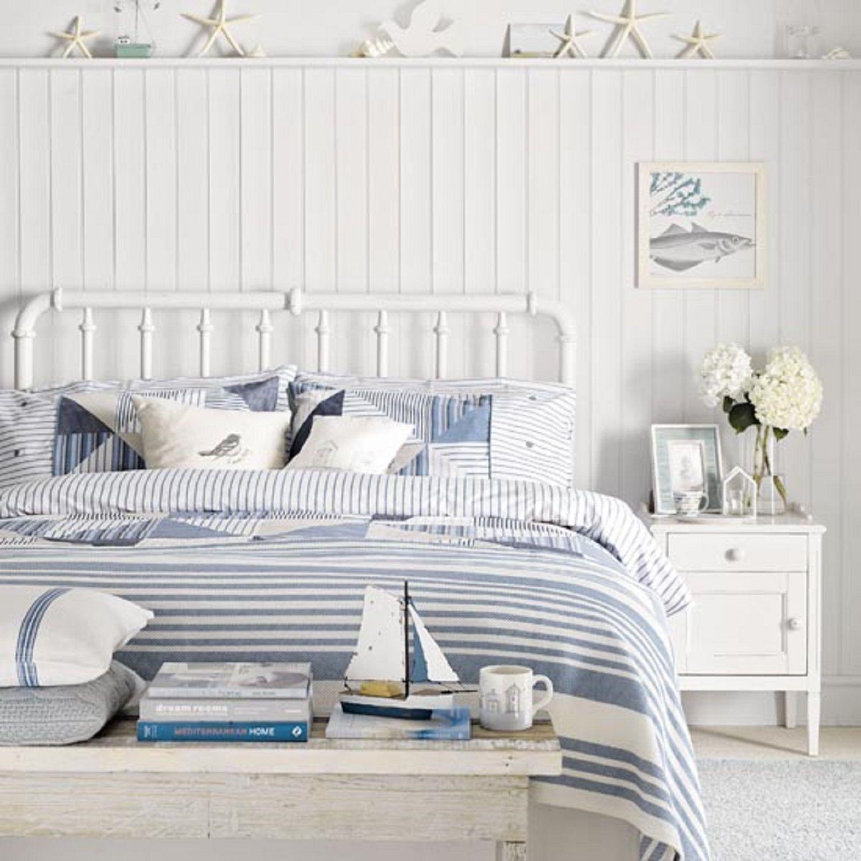 Sunny beach bedroom