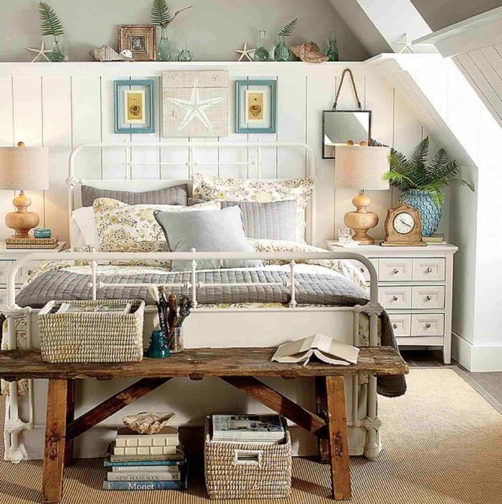 Imaginative beach bedroom