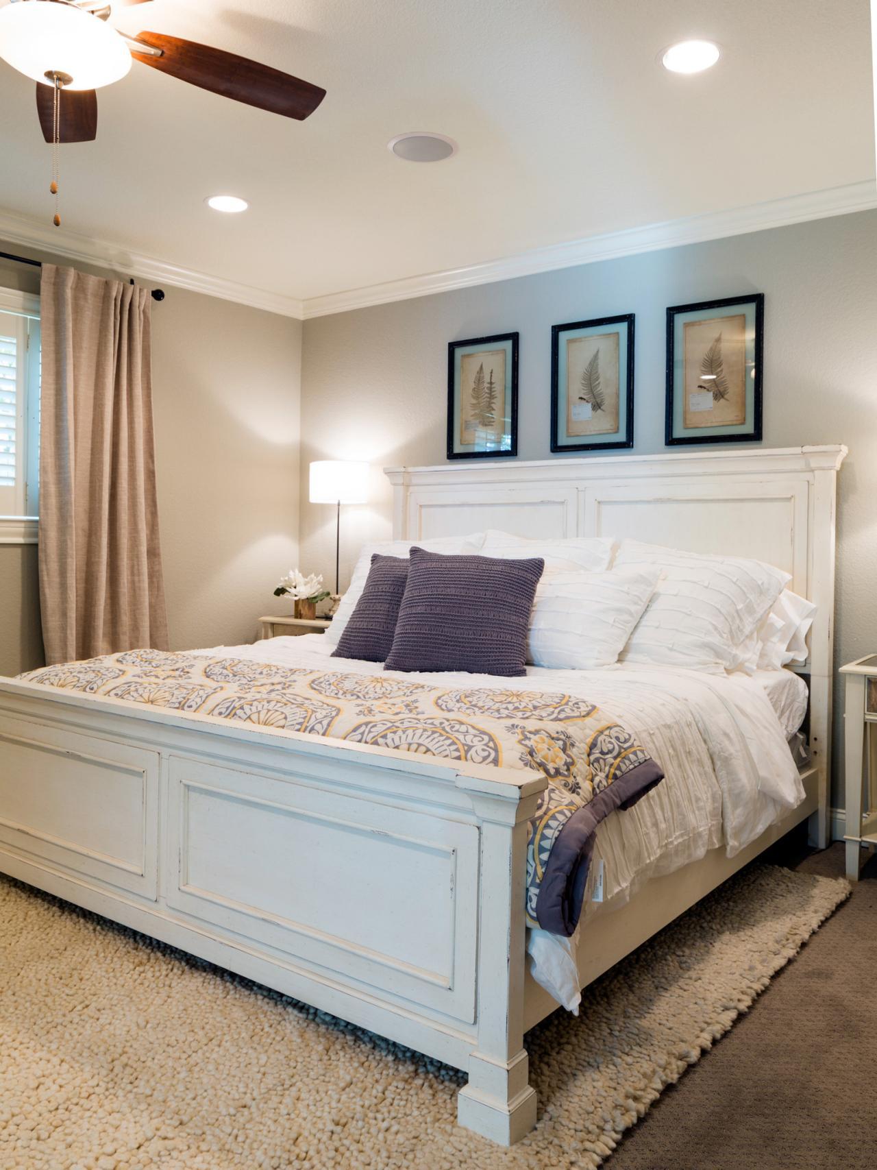 Quiet Joanna Gaines bedroom