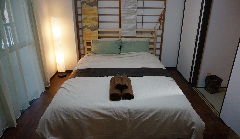 Japanese zen bedroom