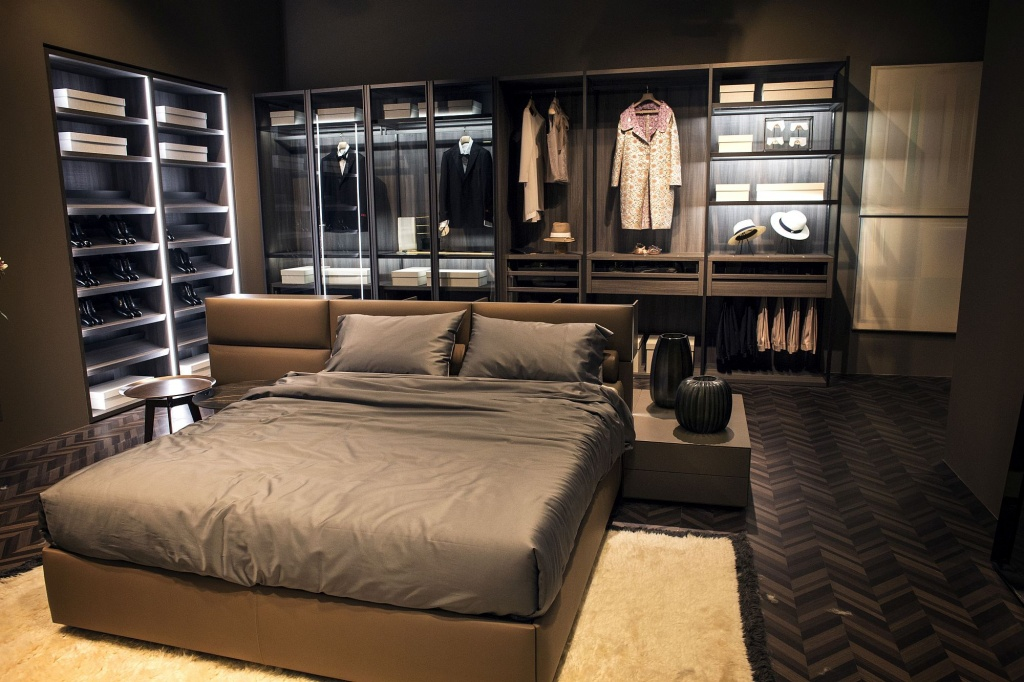 Formal adult bedroom