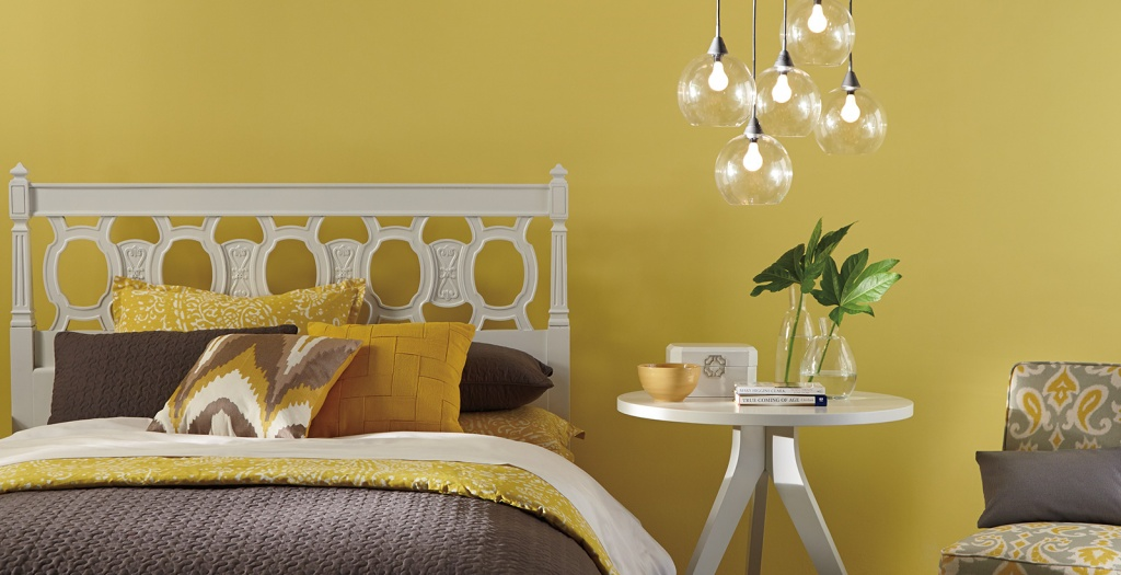 Fashionable bedroom for young adults
