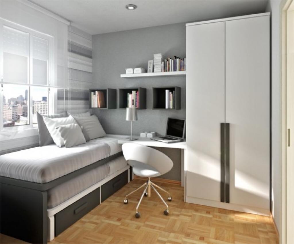 Minimalist youth room