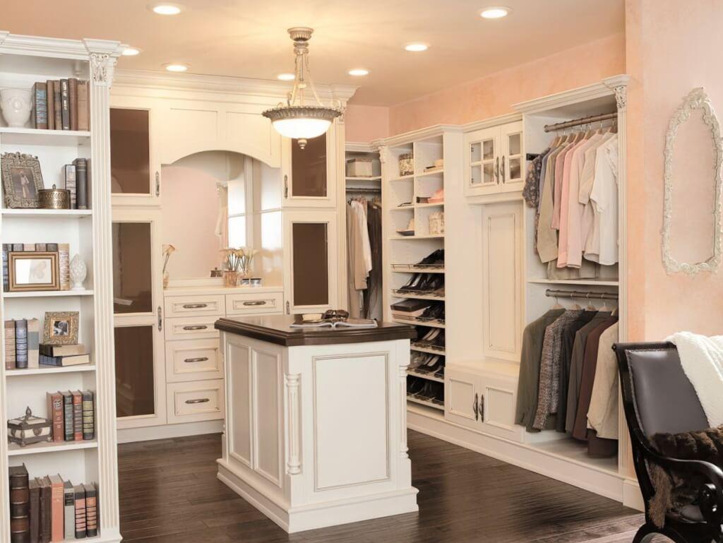 Modern classic bedroom cabinet