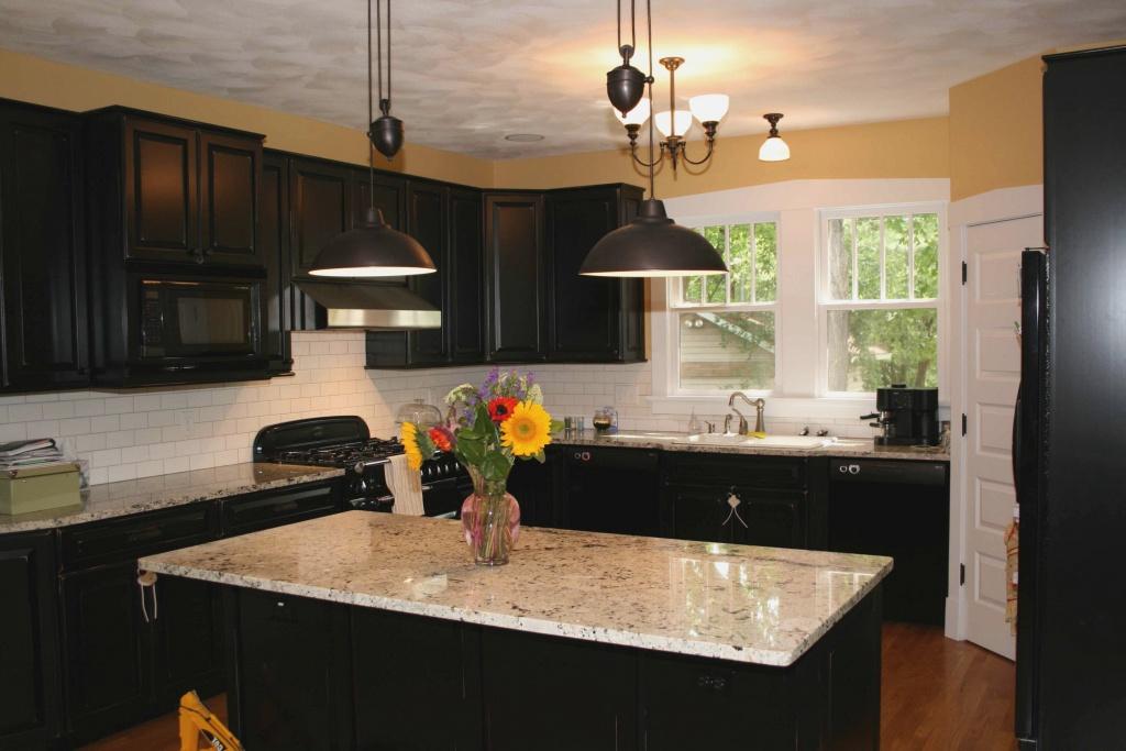 Wonderful dark kitchen