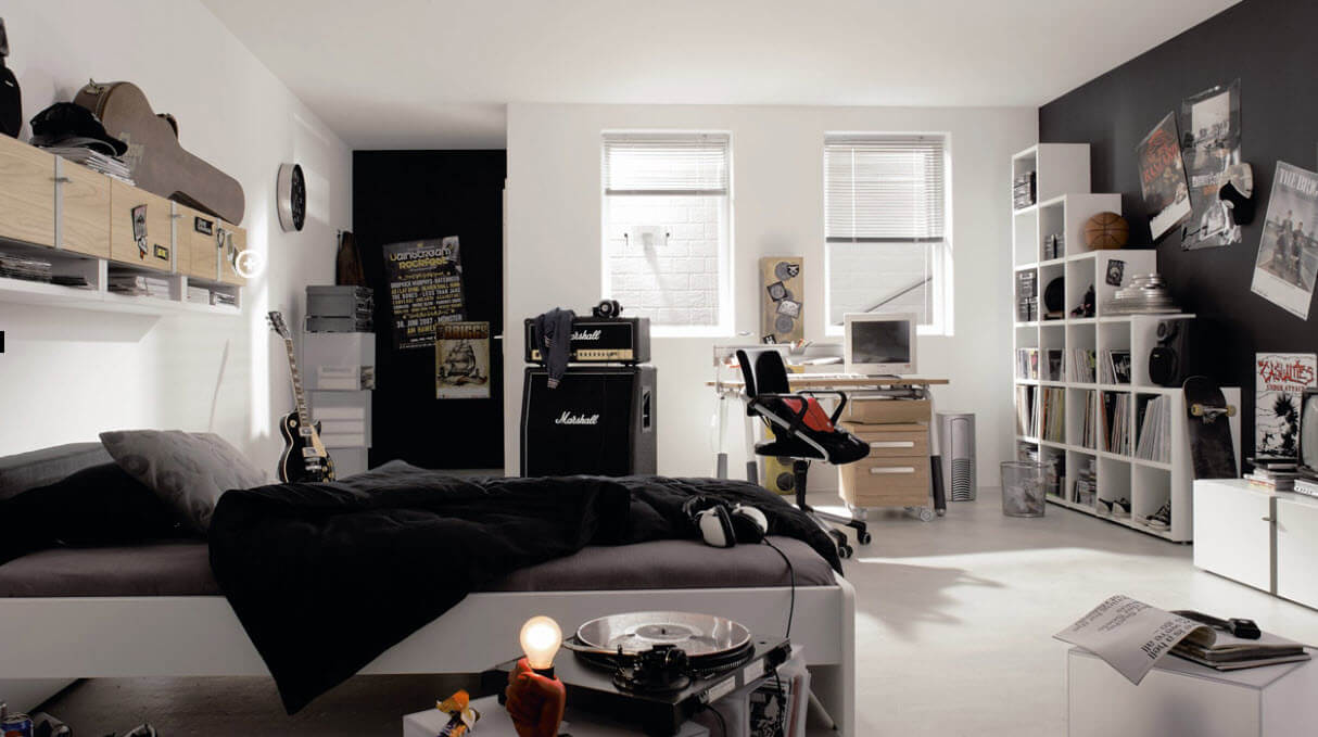 Bedroom for male teenagers