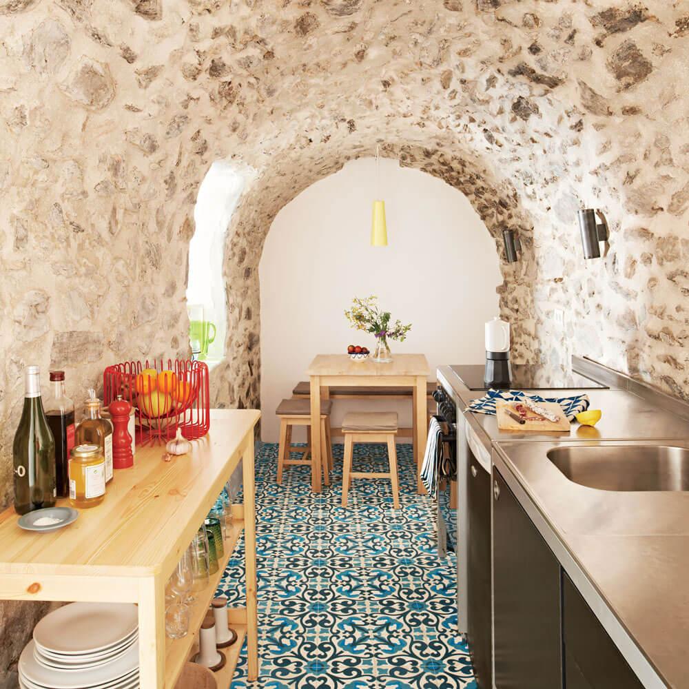 Charming kitchen floor