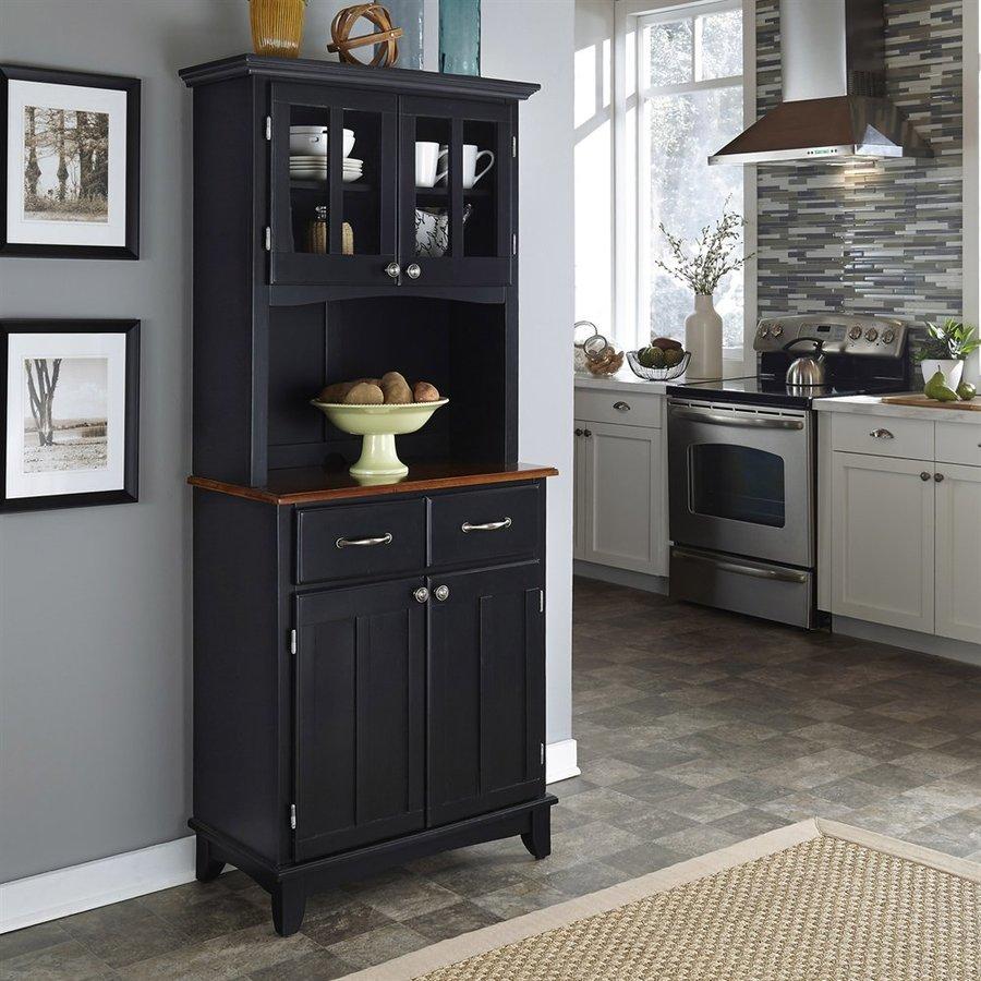 Black kitchen stand