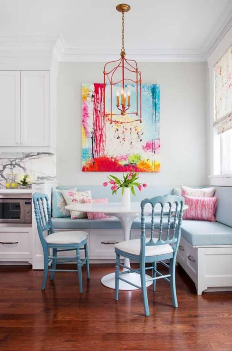 Creative kitchen chandelier