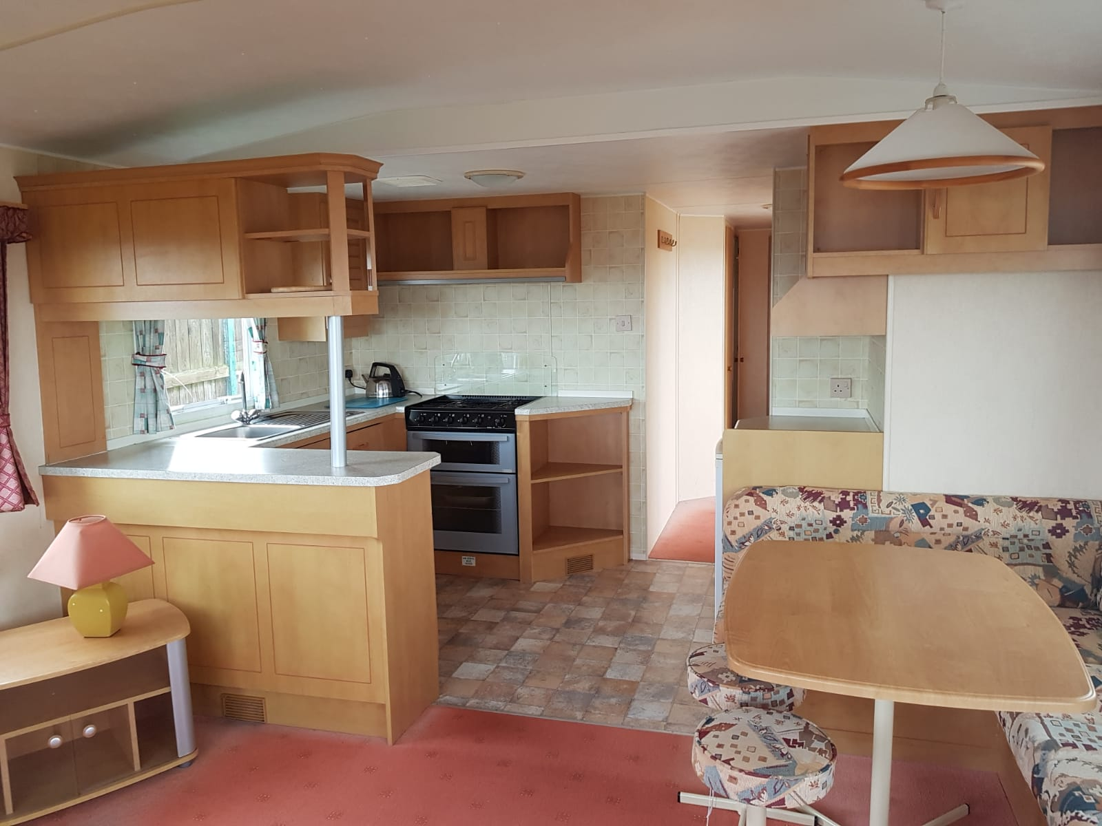 Magnificent mobile home kitchen